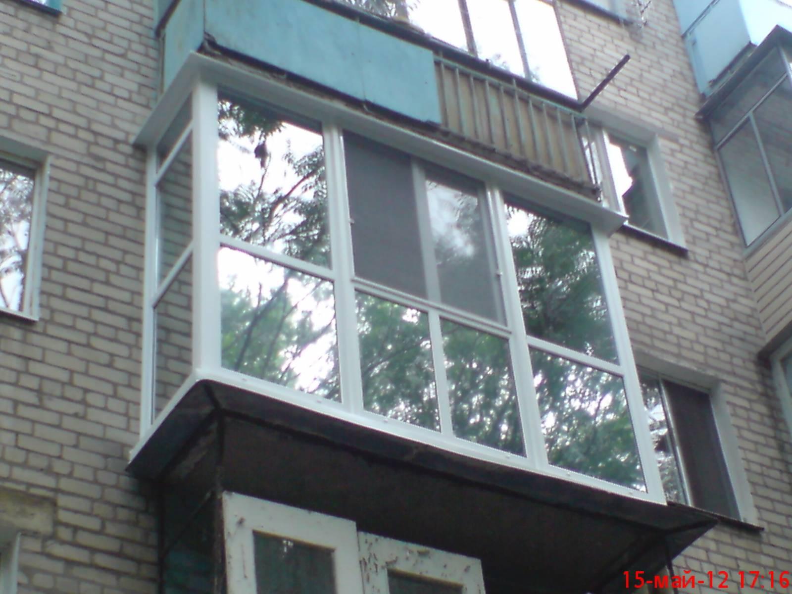 Как выглядит французский балкон..